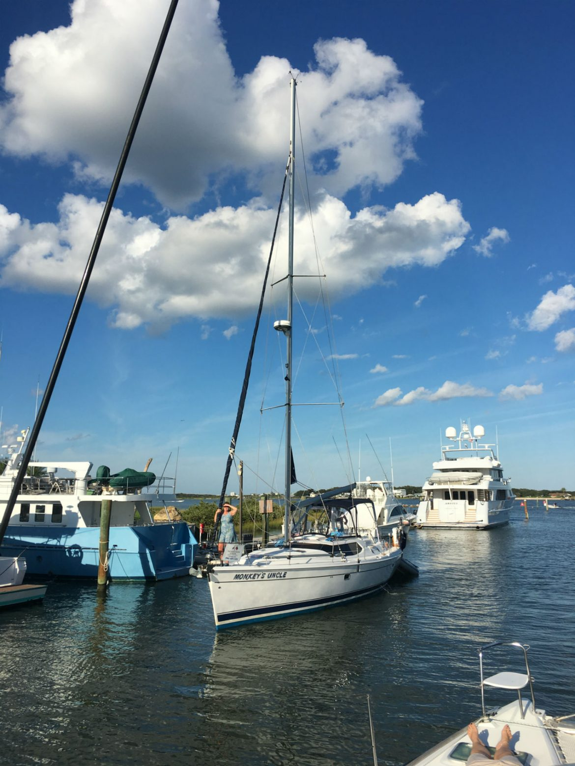 , Anatomy of a Sailboat – Part 3 – Below