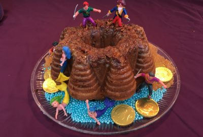 pirate rum cake, Fast and Easy Pirate Fort Holiday Dark Rum Bundt Cake // Mermaids Optional