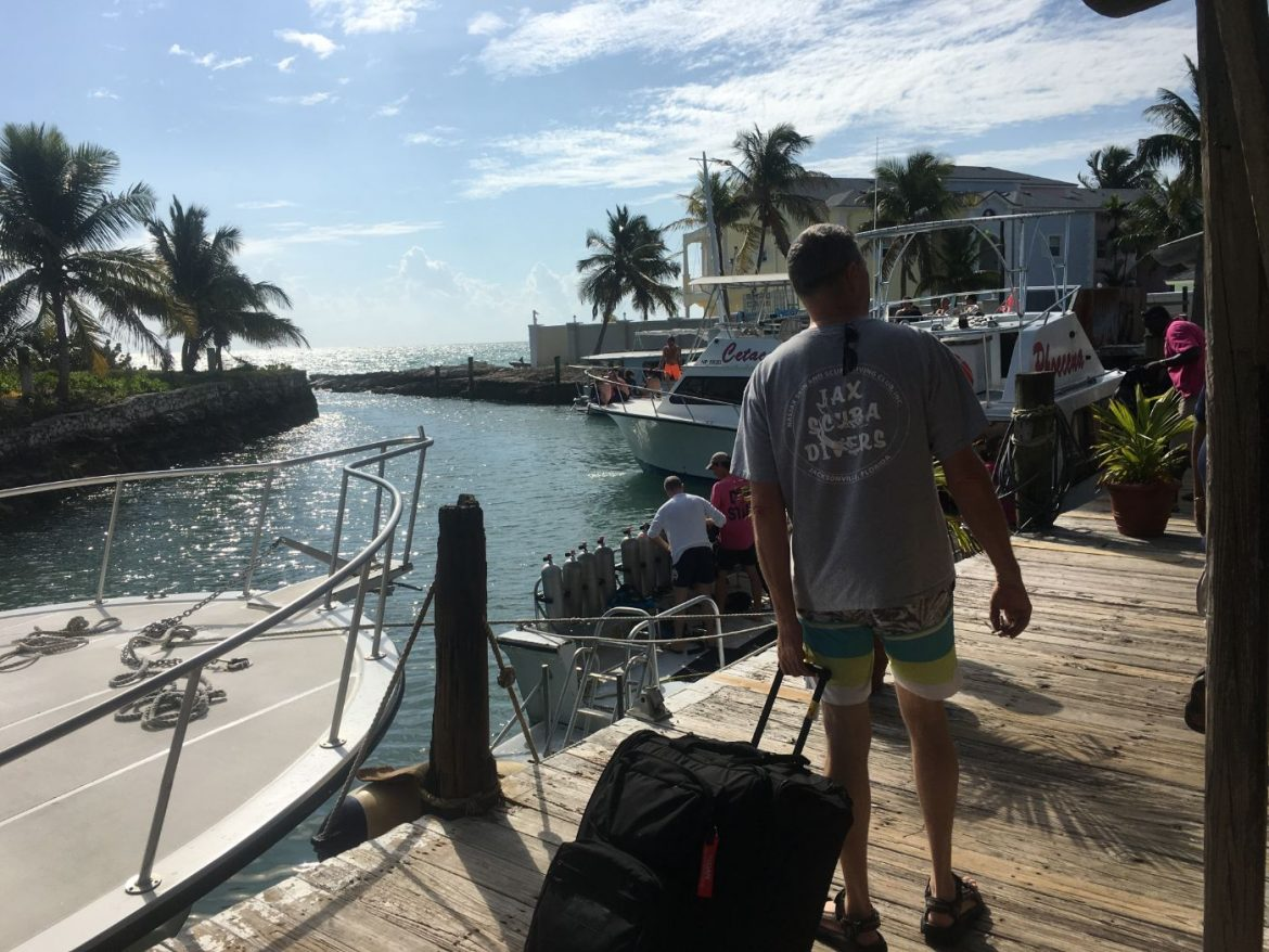 , How We Cut Our Dive Gear Weight by 38 Pounds for Travel