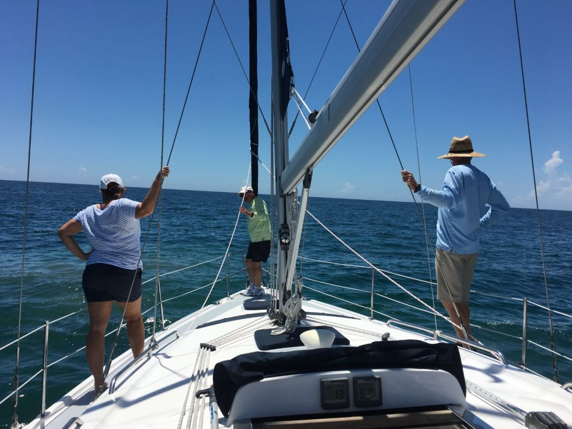 Picking up mooring ball, Practice Your Mooring Skills in Advance