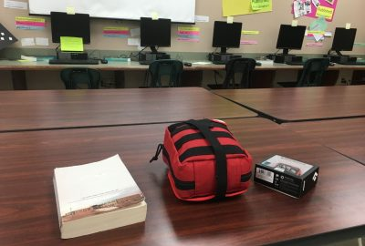 , Classroom Bleeding Control Kit // High School Teacher Packing in the Classroom