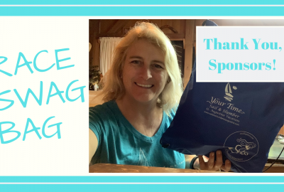 , SASS BIKINI RACE CAPTAIN'S BAG // THANK YOU SPONSORS! // Deep Water Happy