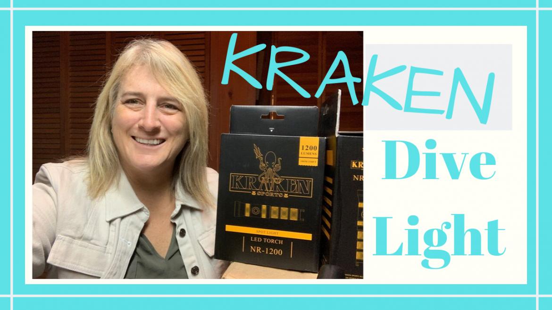 Kraken Dive Light, KRAKEN DIVE LIGHTS REVIEW // Deep Water Happy