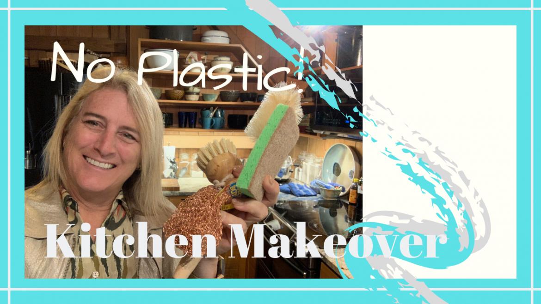 Eliminating Kitchen Plastic, KITCHEN MAKEOVER // ELIMINATING PLASTIC // Deep Water Happy