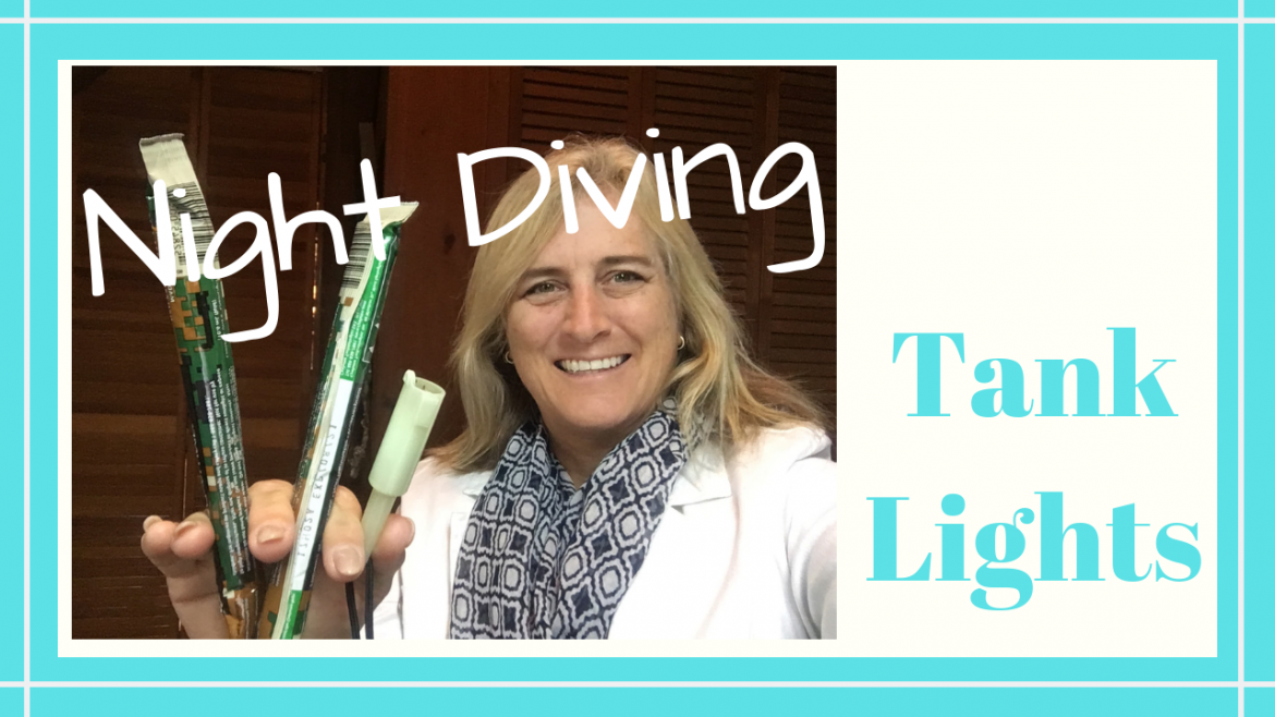 WATER ACTIVATED NIGHT DIVE TANK LIGHTS, WATER ACTIVATED NIGHT DIVE TANK LIGHTS // Deep Water Happy