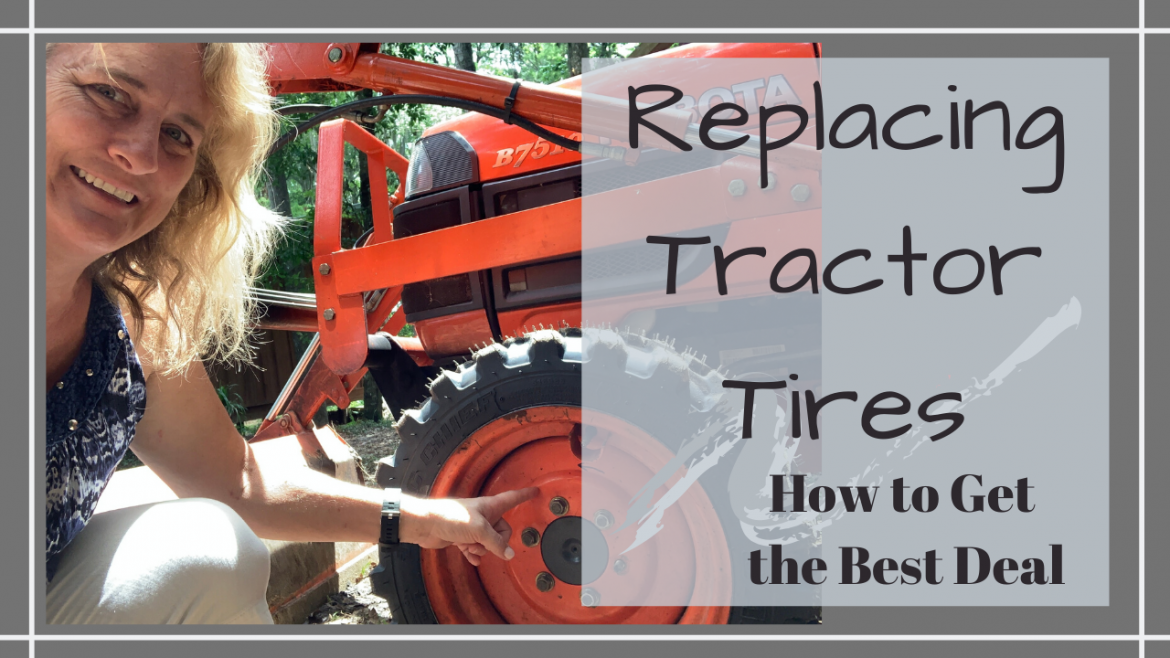 , BEST DEAL FOR REPLACING TRACTOR TIRES // CHANGING TIRES ON A KUBOTA 7510 // Deep Water Happy