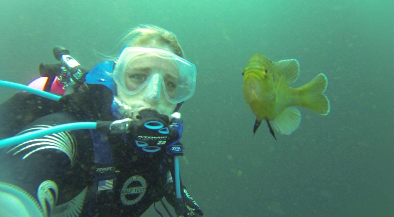 Diving Blue Grotto // PADI Nitrox Class // Williston Florida, Diving Blue Grotto // PADI Nitrox Class // Williston Florida