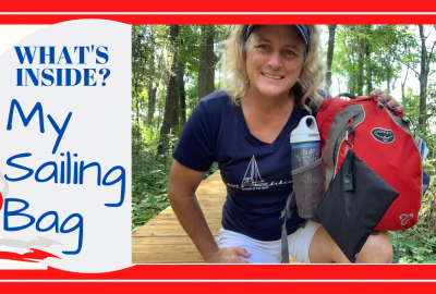 Sailing Bag, WHAT'S IN MY DAILY SAILING BAG? // BOAT CAPTAIN EVERY DAY CARRY // Deep Water Happy