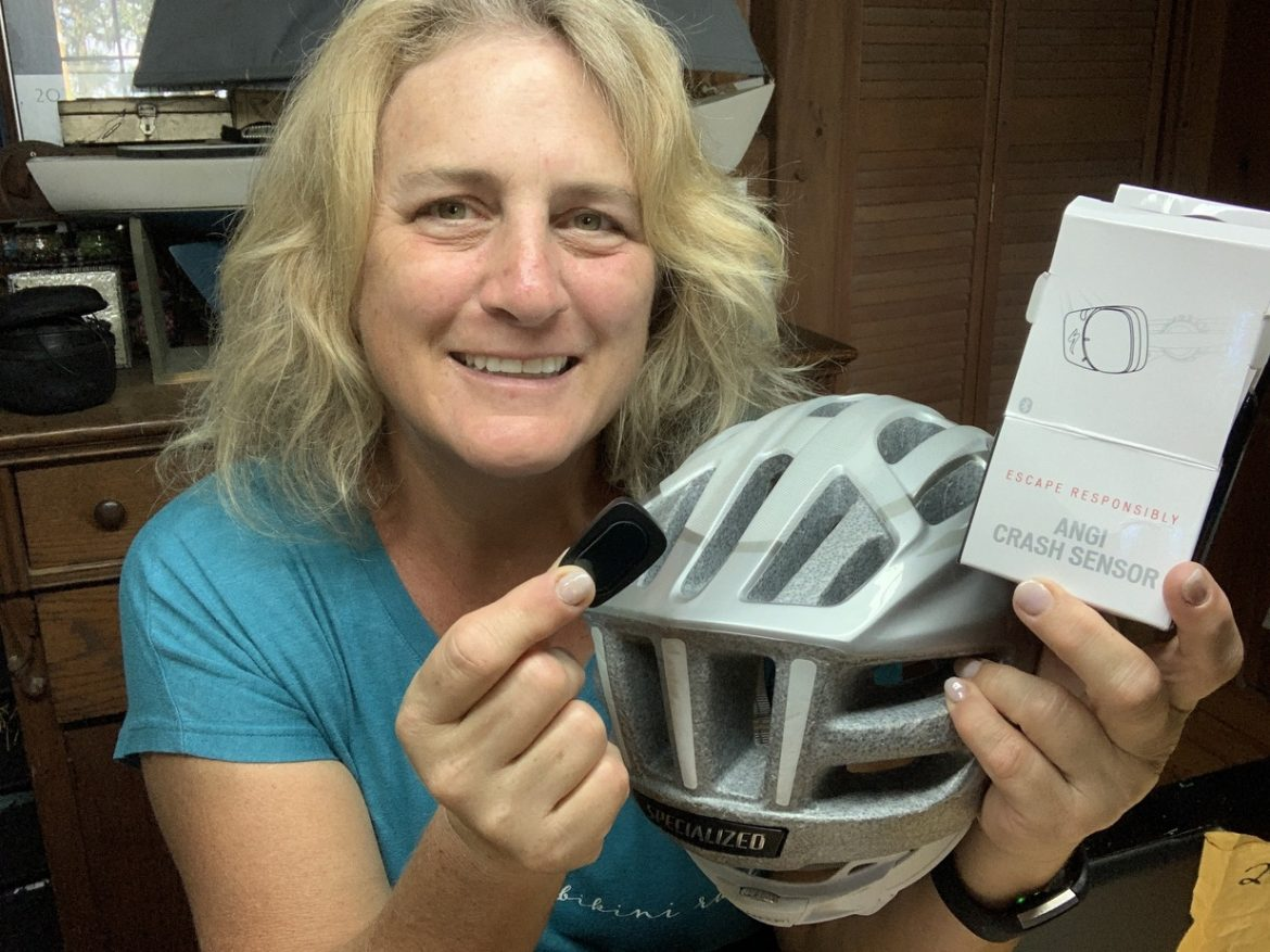 Specialized ANGi, Your Cycling Helmet Can Call For Help // Specialized ANGi and Road ID