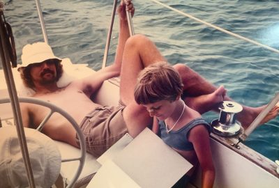Sail Bahamas, My First Published Sailing Article // Kim Goes Foreign // 1975 Bahamas Trip