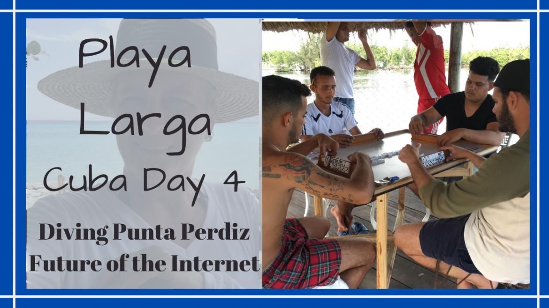 Playa Larga Diving Cuba, DIVING PUNTA PERDIZ // DISCUSSING HOW INTERNET CHANGES SOCIETY // CUBA DAY 4 // Deep Water Happy