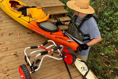 Making Kayaking Easier, How To Make Your Kayaking Trips Easier // Get A Cart!