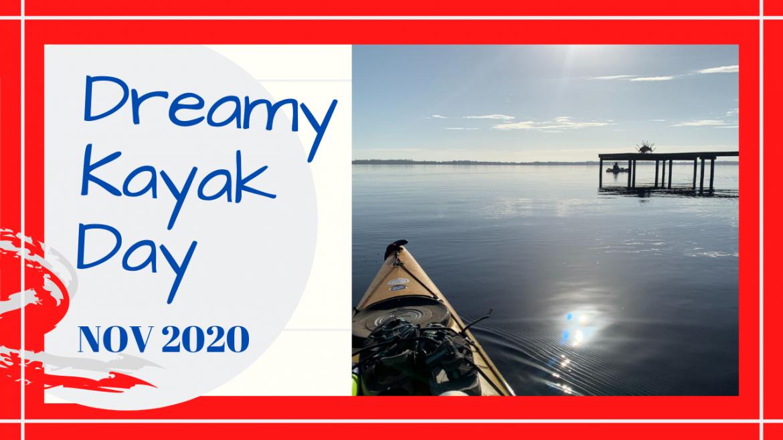 Kayaking Florida, KAYAKING IN NE FL IN NOVEMBER // FLAT CALM! // Deep Water Happy
