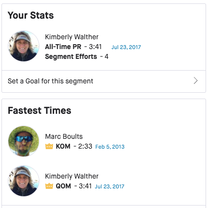 cycling goal, When You Lose Your QOM on Strava // The #1 App for Runners, Cyclists, Swimmers