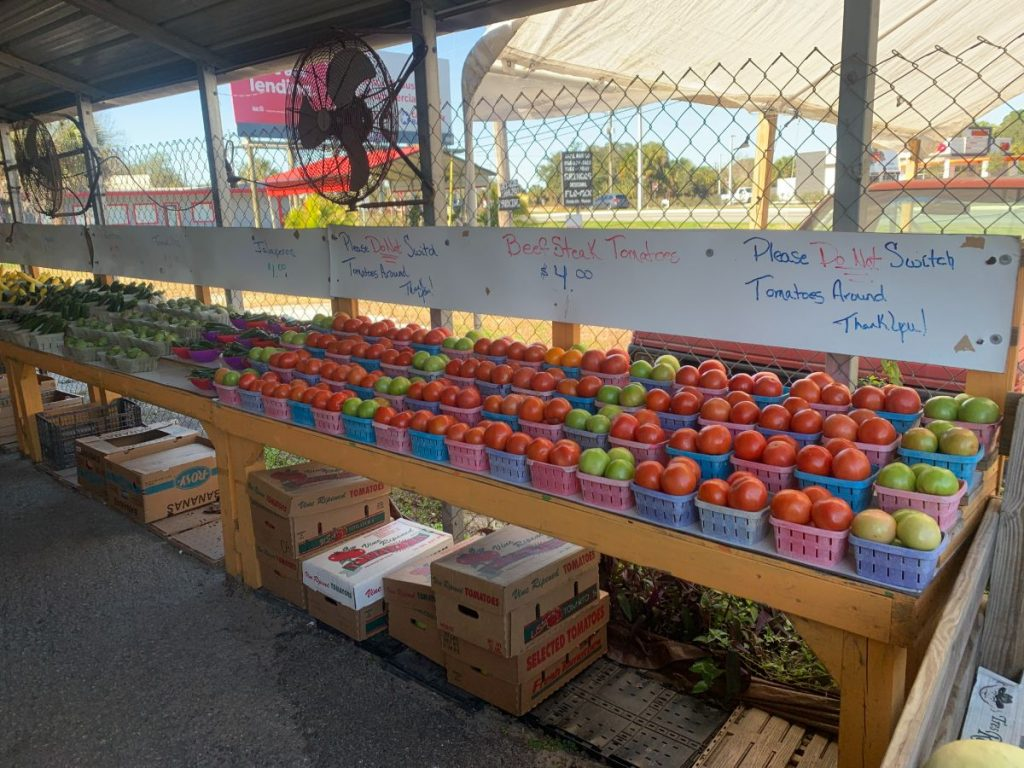 farmers market, Head to a Local Farmer's Market for Your Veggies and Fruits – and Take Your Bags