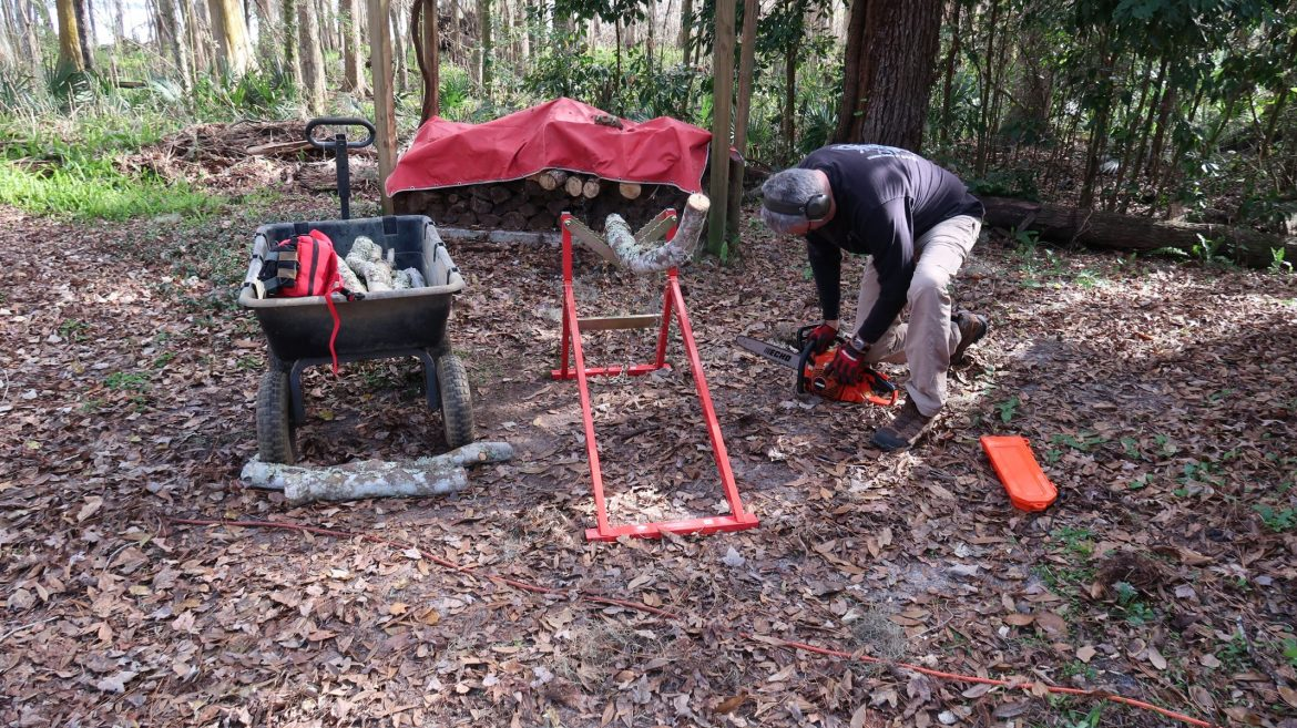 woodcutting sawhorse, Buck Jack Woodcutting Ultimate Sawhorse Trials