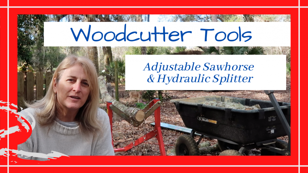 Olympia Tools Forest Master Ultimate Sawhorse SunJoeCo Hydraulic Log Splitter, ASSEMBLING OLYMPIA TOOLS' FOREST MASTER ULTIMATE SAWHORSE // SUNJOE LOG SPLITTER // Deep Water Happy