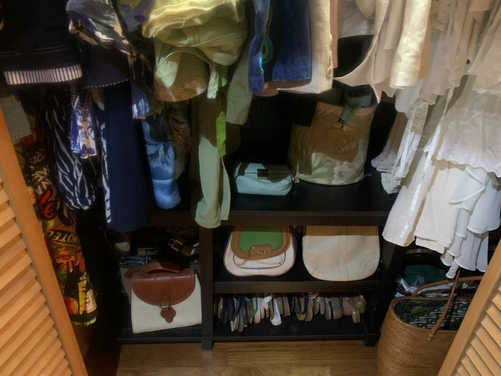 closet organization, You Can Have A Designer Closet on a Dime // How I Took Mine From a Mess to a Showcase for Free