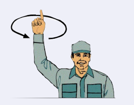 hand signals boaters, Hand Signals for Boaters