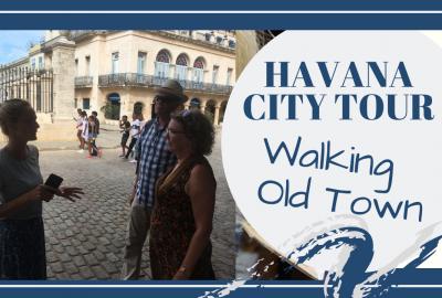 Havana Cuba, HAVANA CUBA CITY WALKING TOUR // LA HABANA VIEJA // TRAVEL TO CUBA // Deep Water Happy